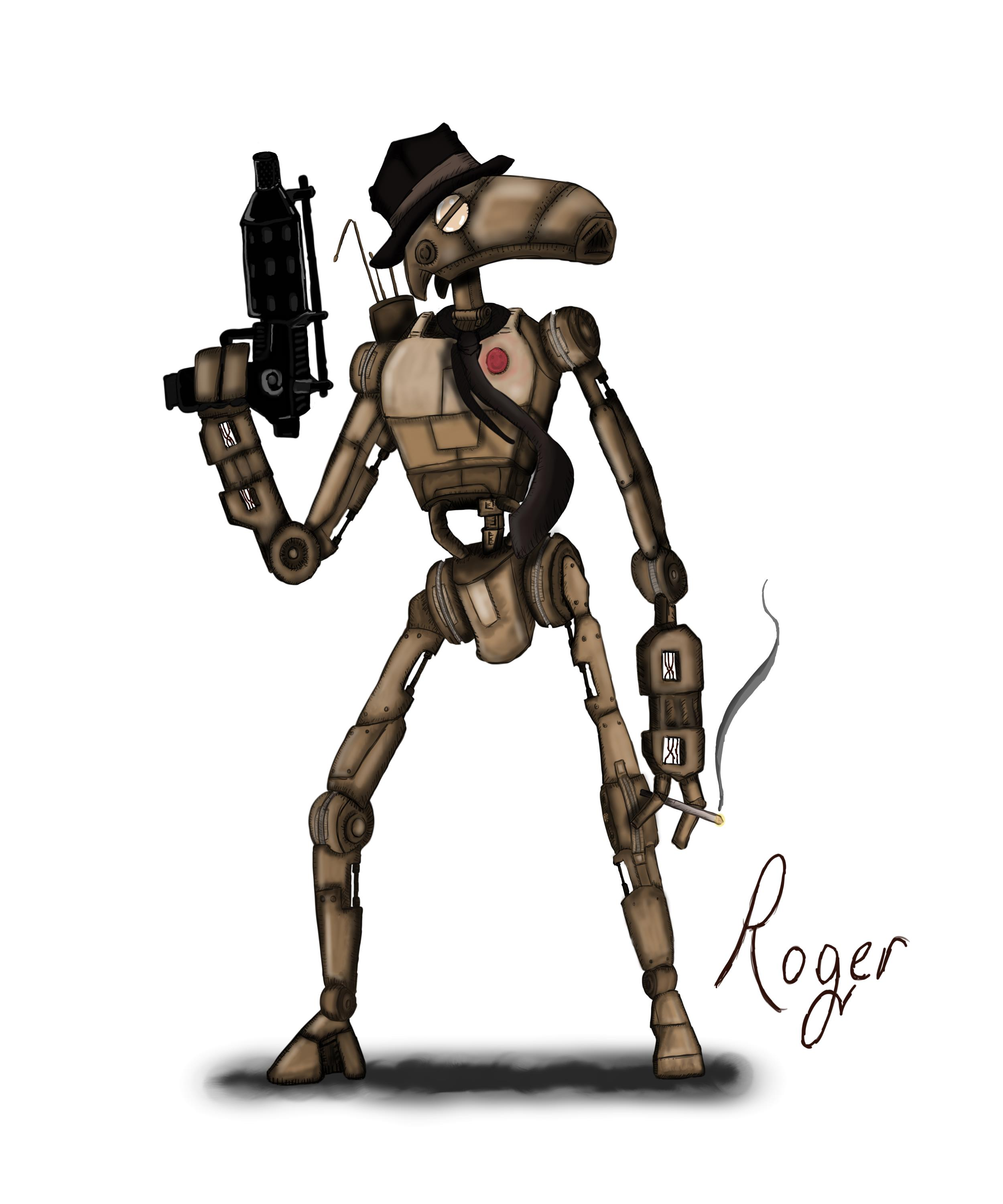 Roger the droid
