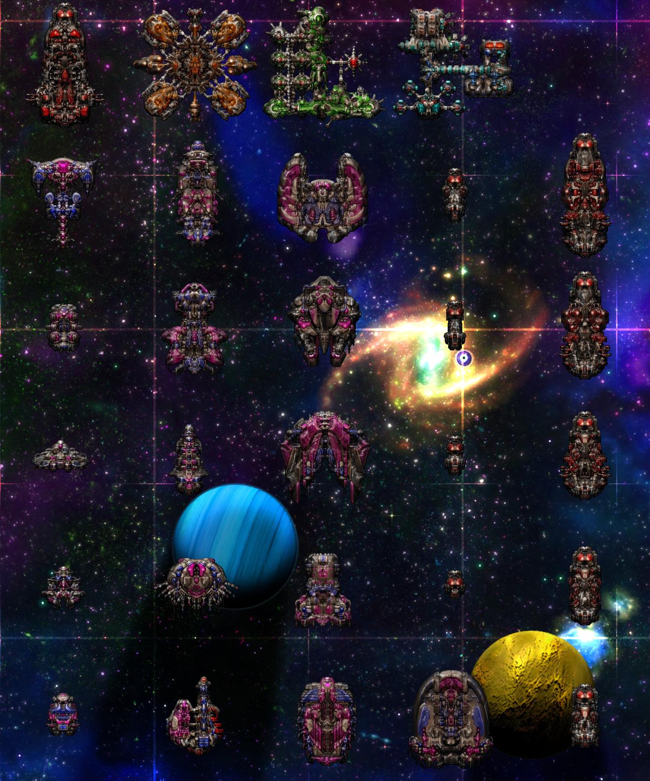 Stellar Flux Starships v1.1