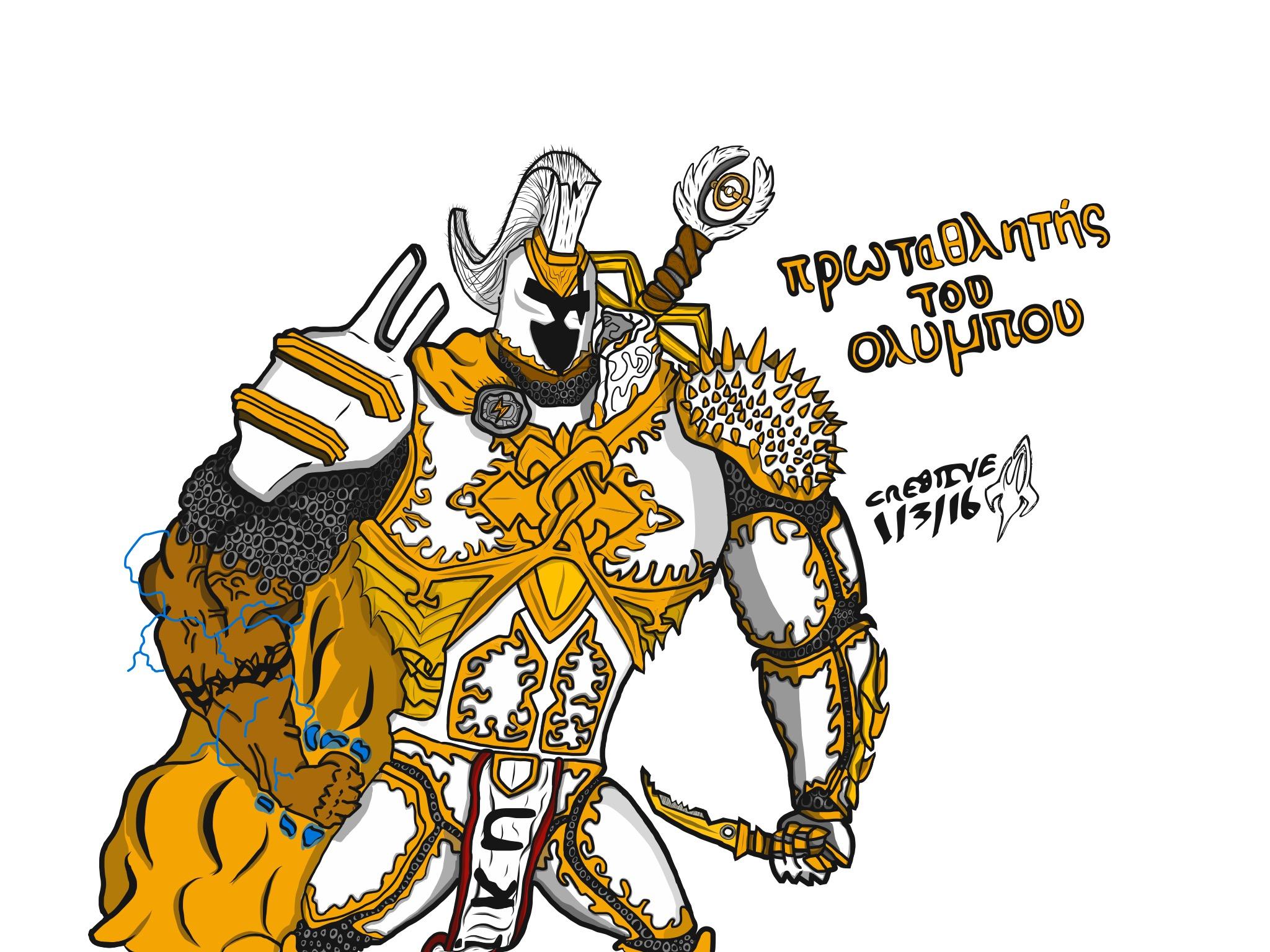 Champion of Olympus 2