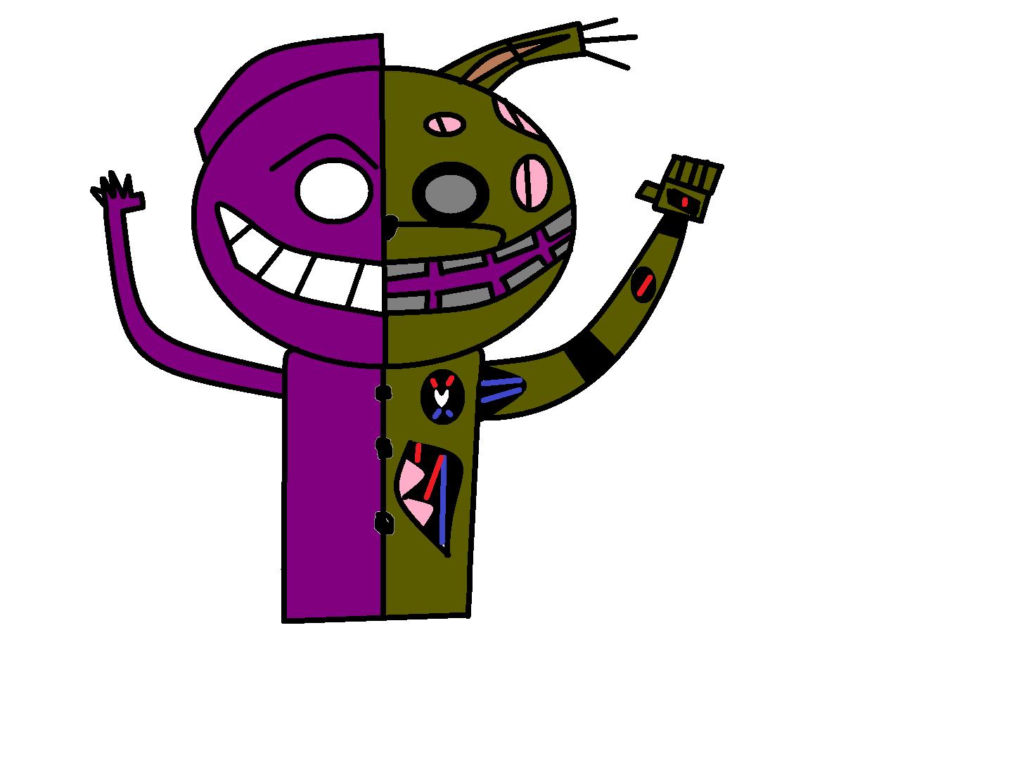 Purple Guy y Springtrap