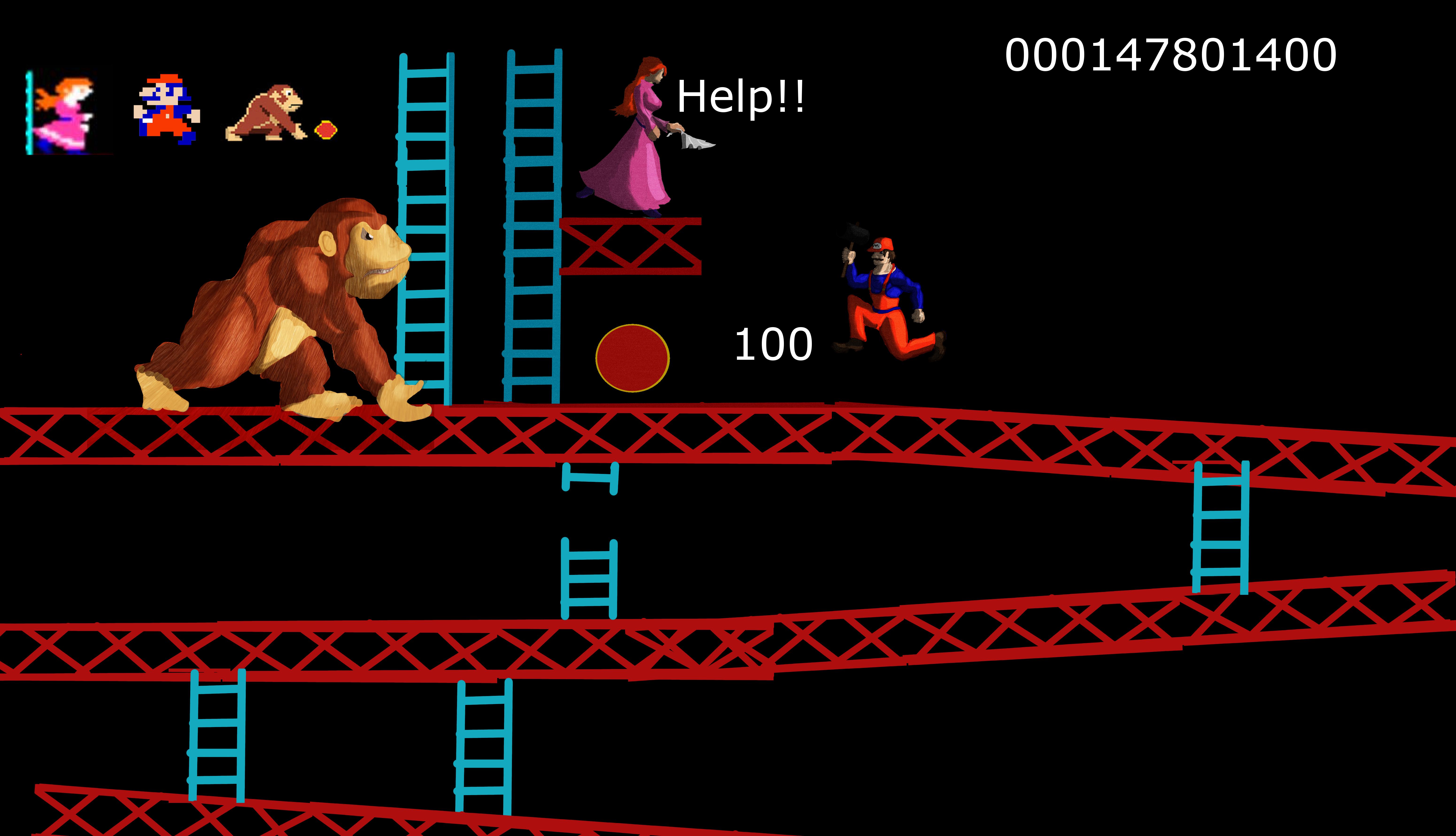 NewRes Original Donkey Kong