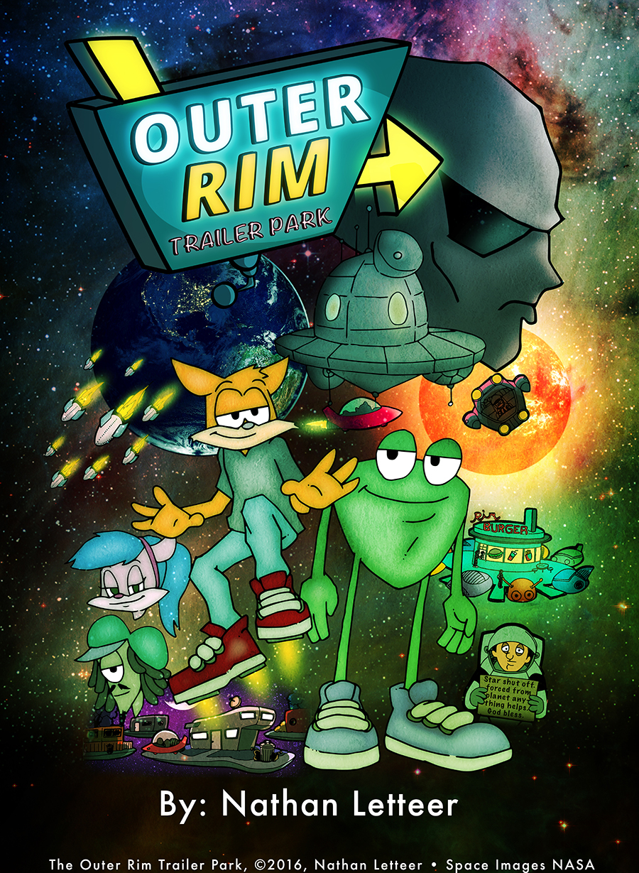 The Outer Rim Trailer Park - Poster