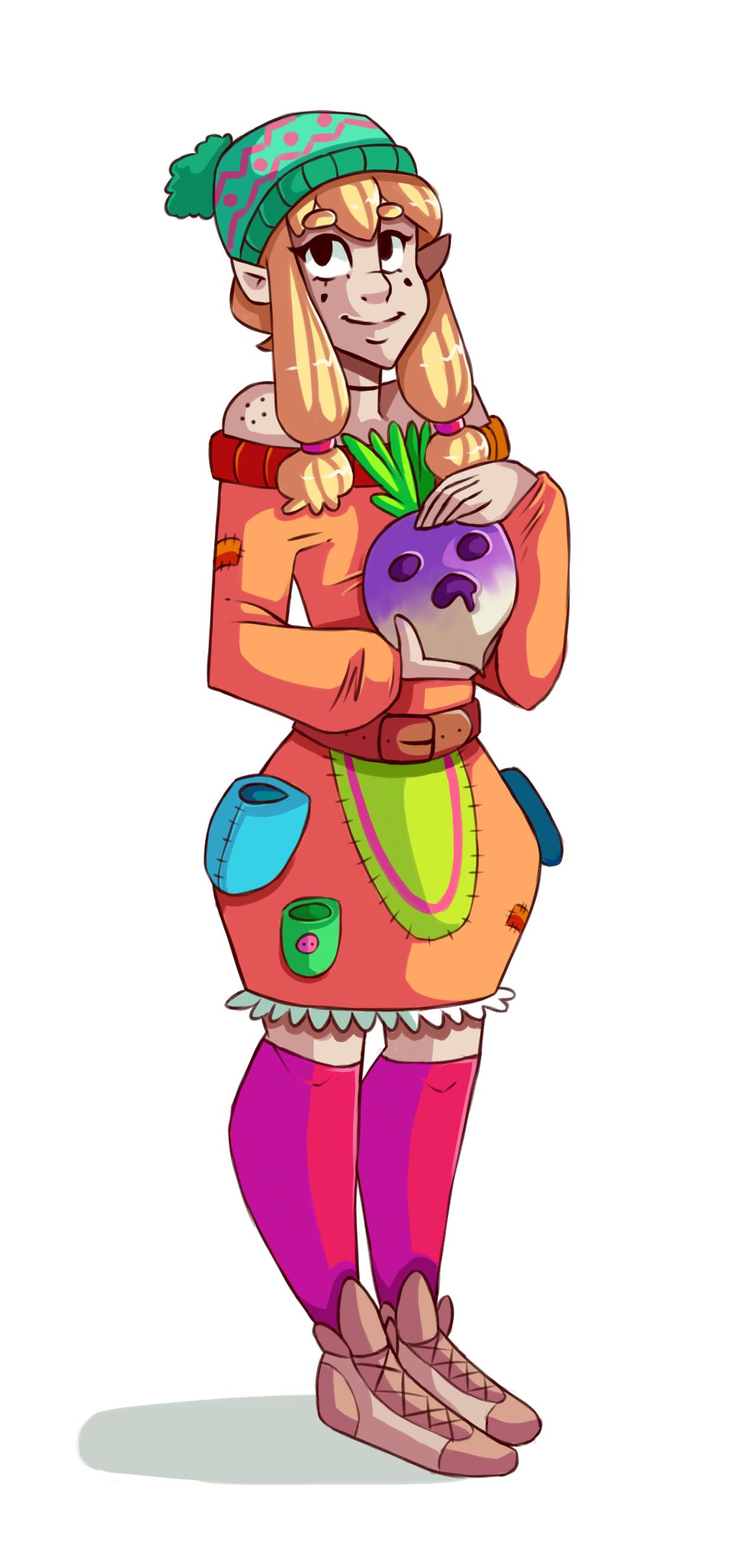 turnip lady