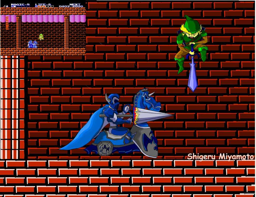 Link v Knucklebuster
