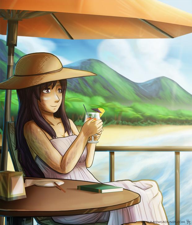 Illustration Friday 13 - Tropical