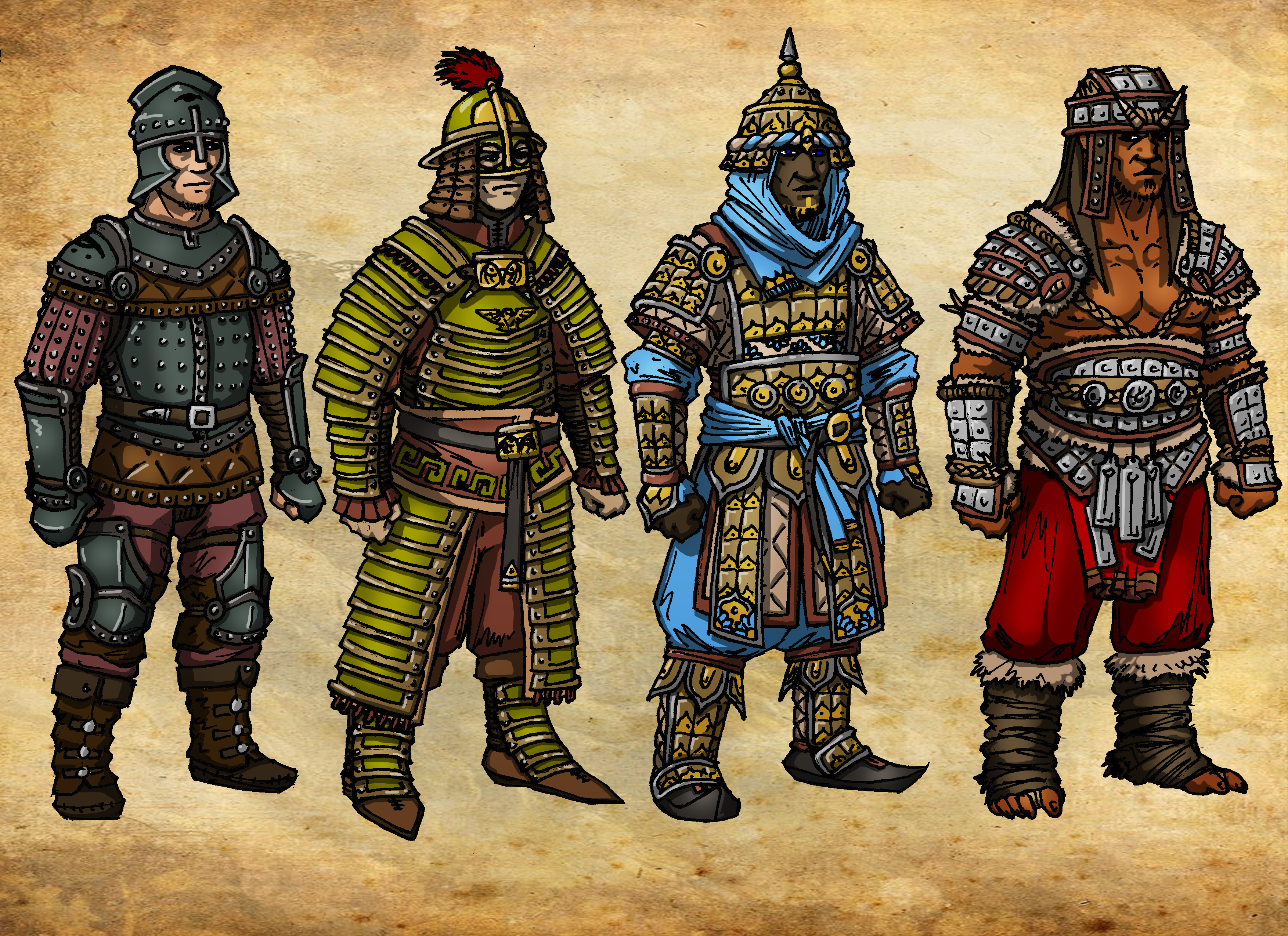 armors