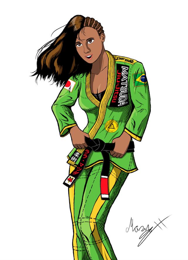 Laura Matsuda Brazilian Jiujutsu Gi Colored
