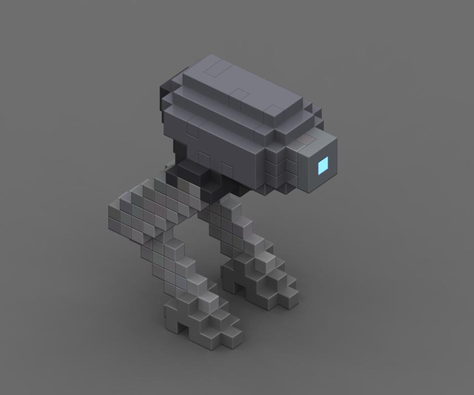Lil' Voxel Bot