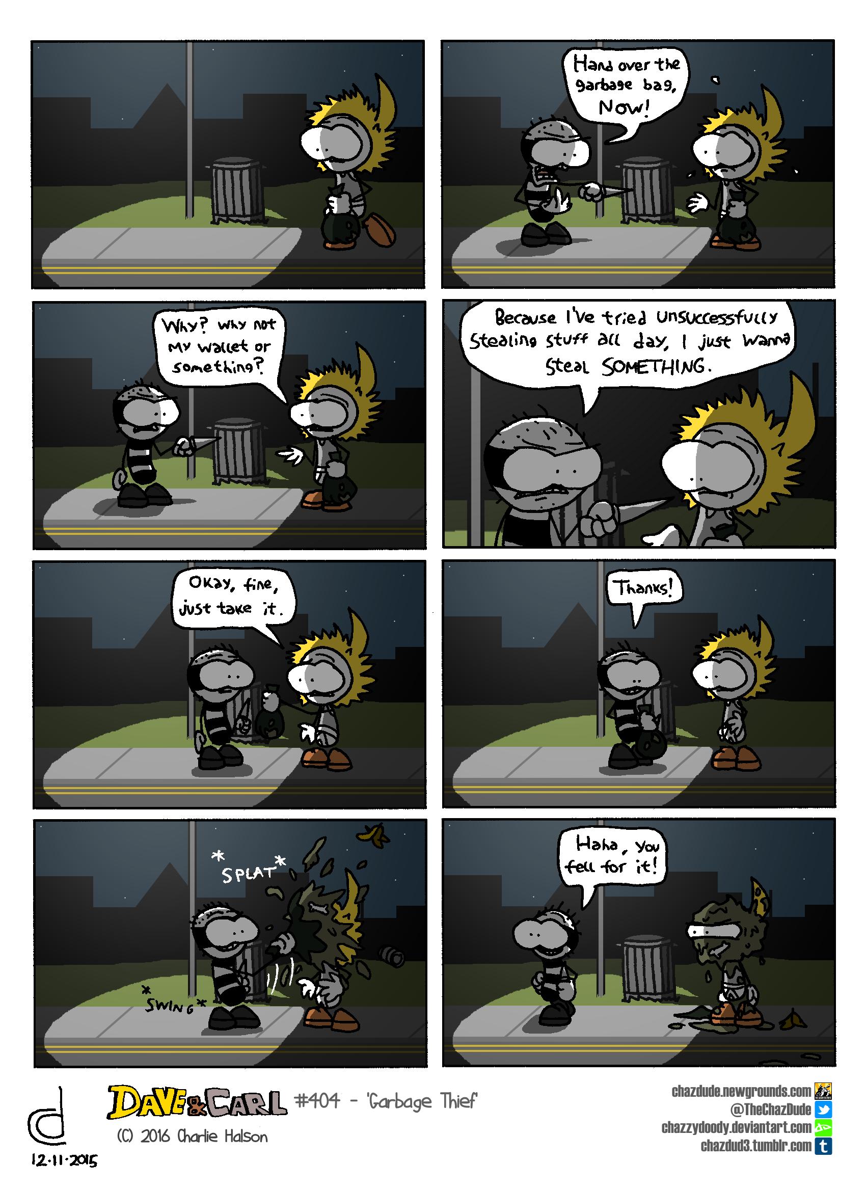 Garbage Thief