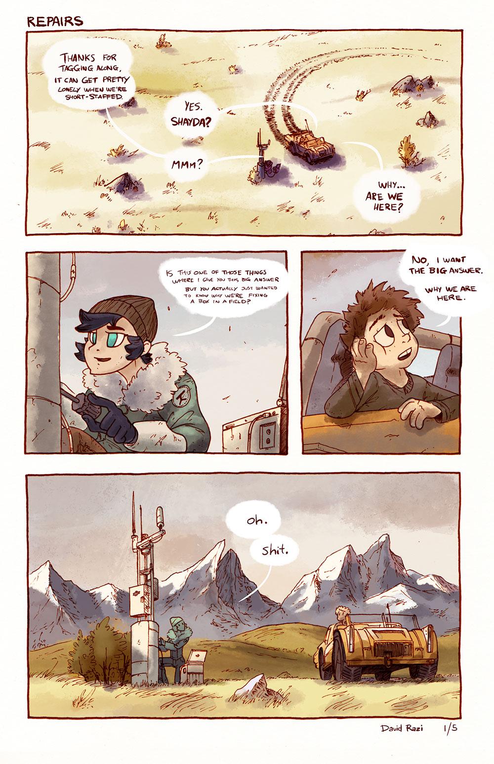 Maps Comic - Repairs 1/5