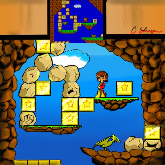 Alex Kidd In Reboot World