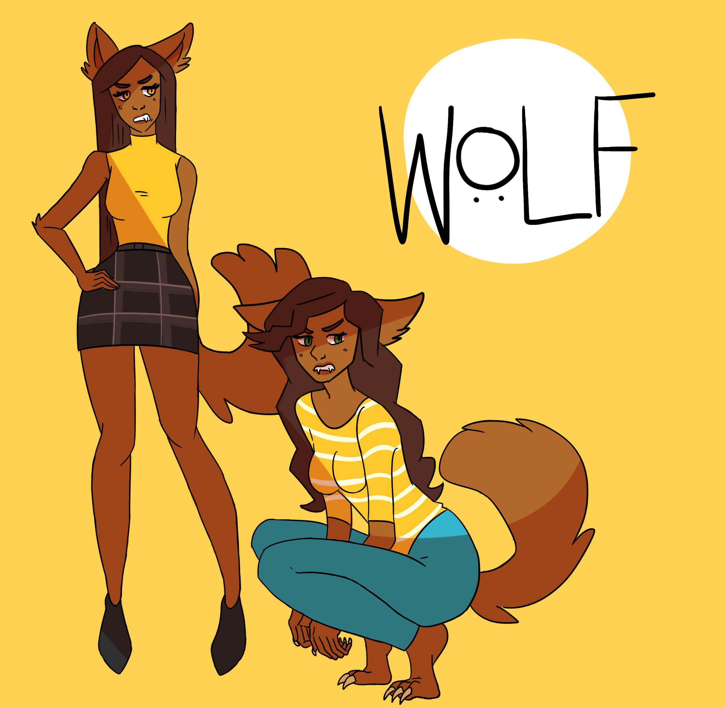 werewolf gal pals
