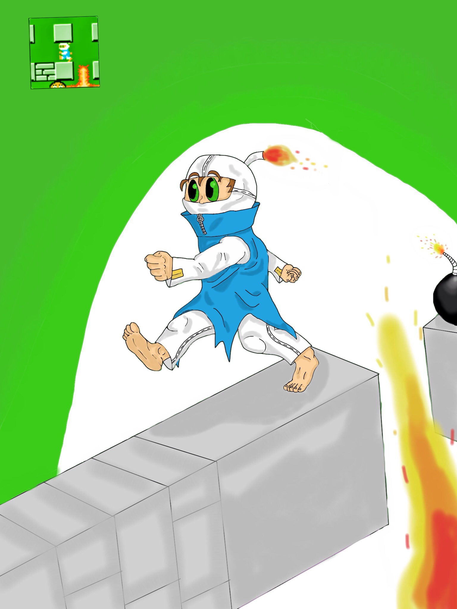 Bomberman new resolution