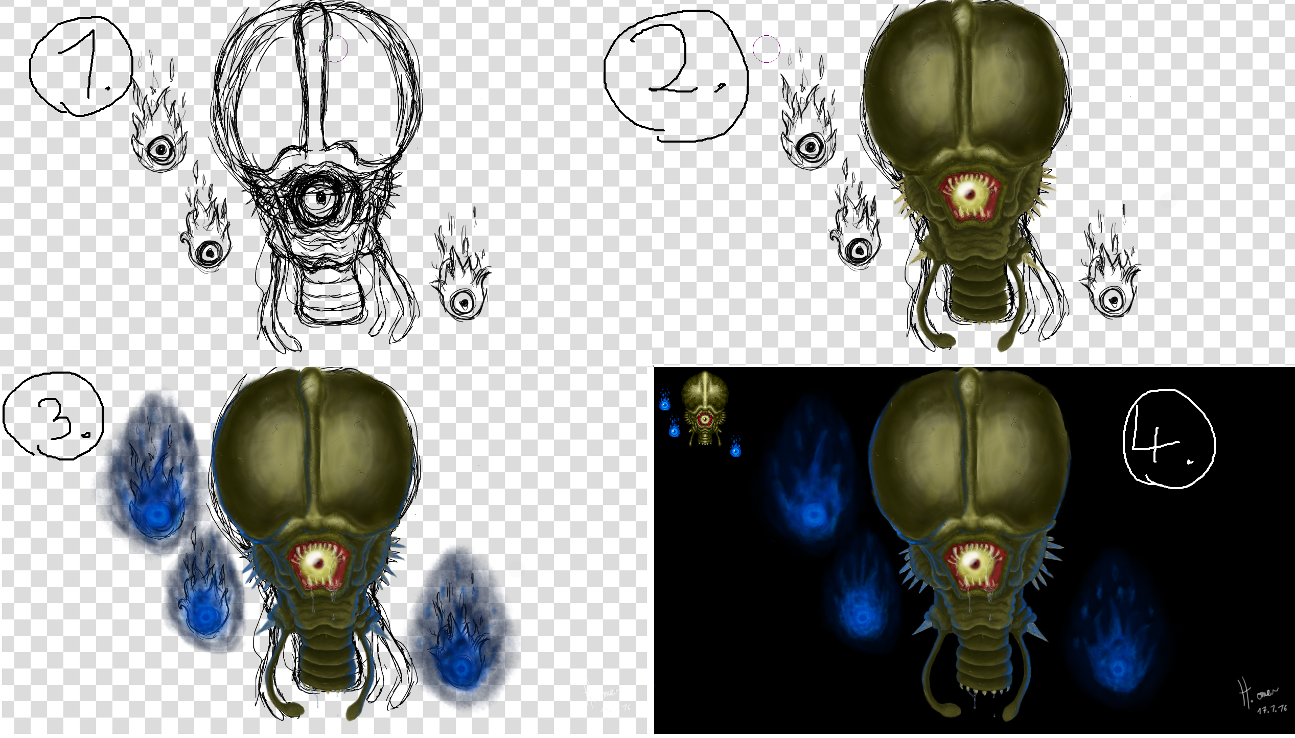 Super Metroid Phantoon WIP