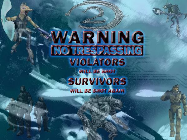 Halo 2 Warning