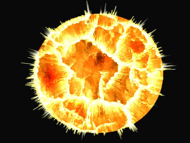 Sun... exploding planet?
