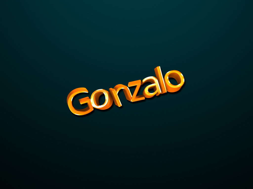 Gonzalo!