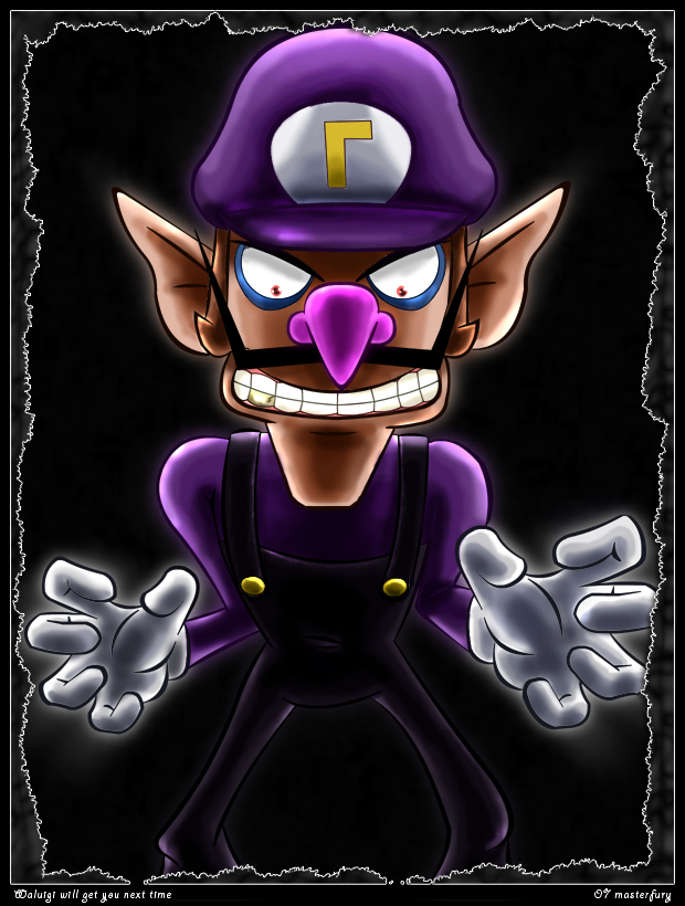 Waluigi will get you next time