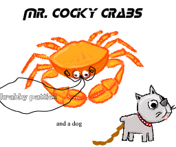 mr cocky crabs