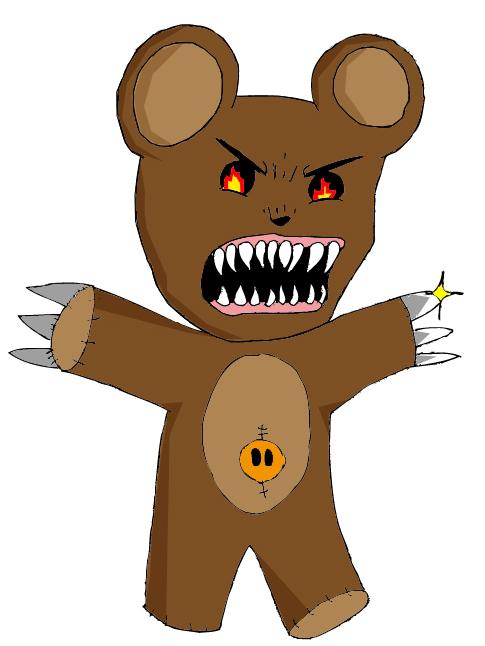 Teddy goes berserk
