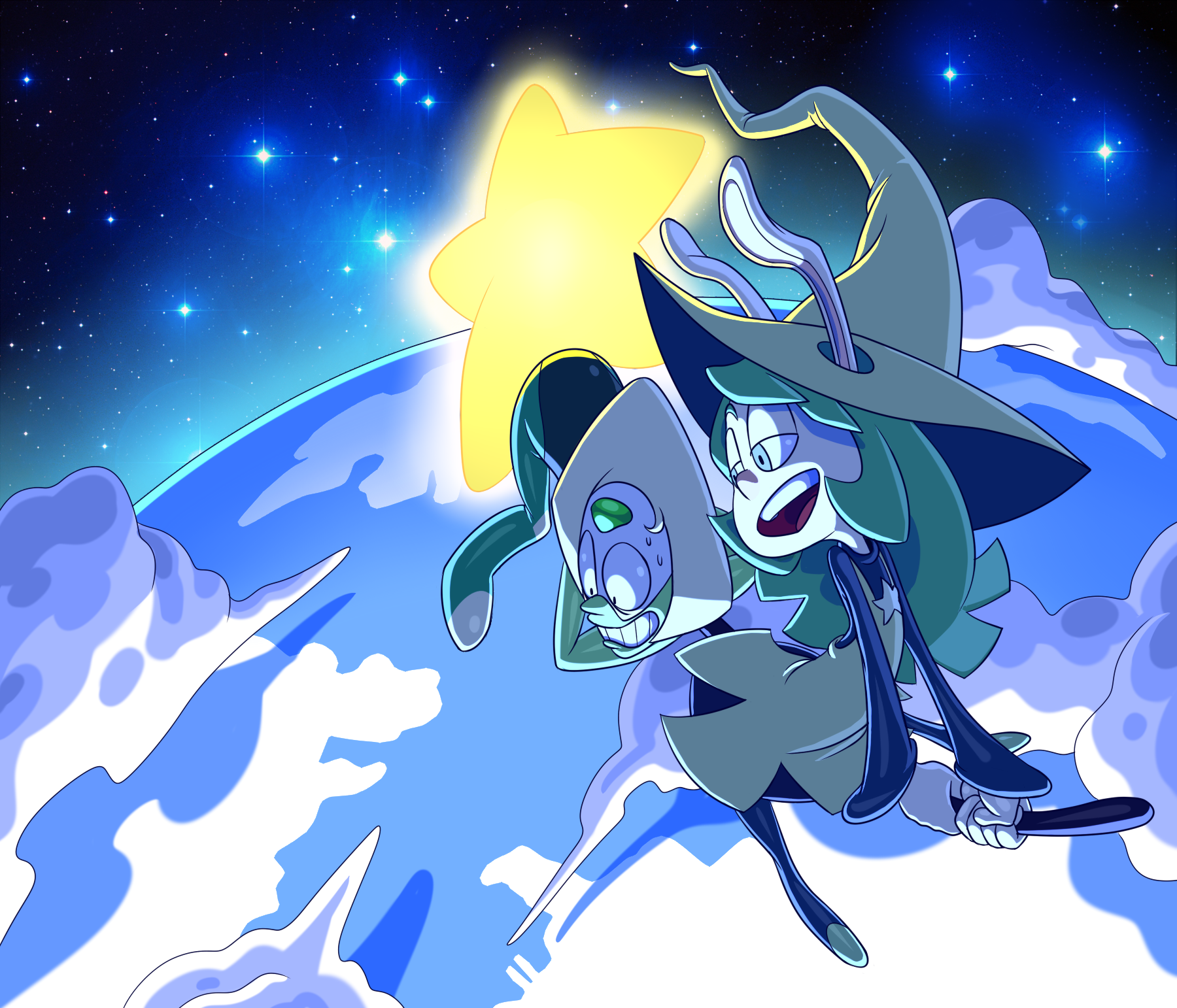 The Two Peridots