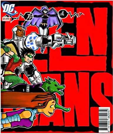 Teen titans fan art cover