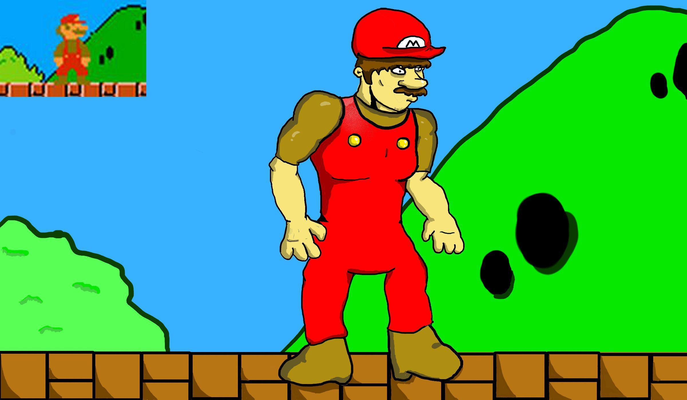 Mario New Resolution