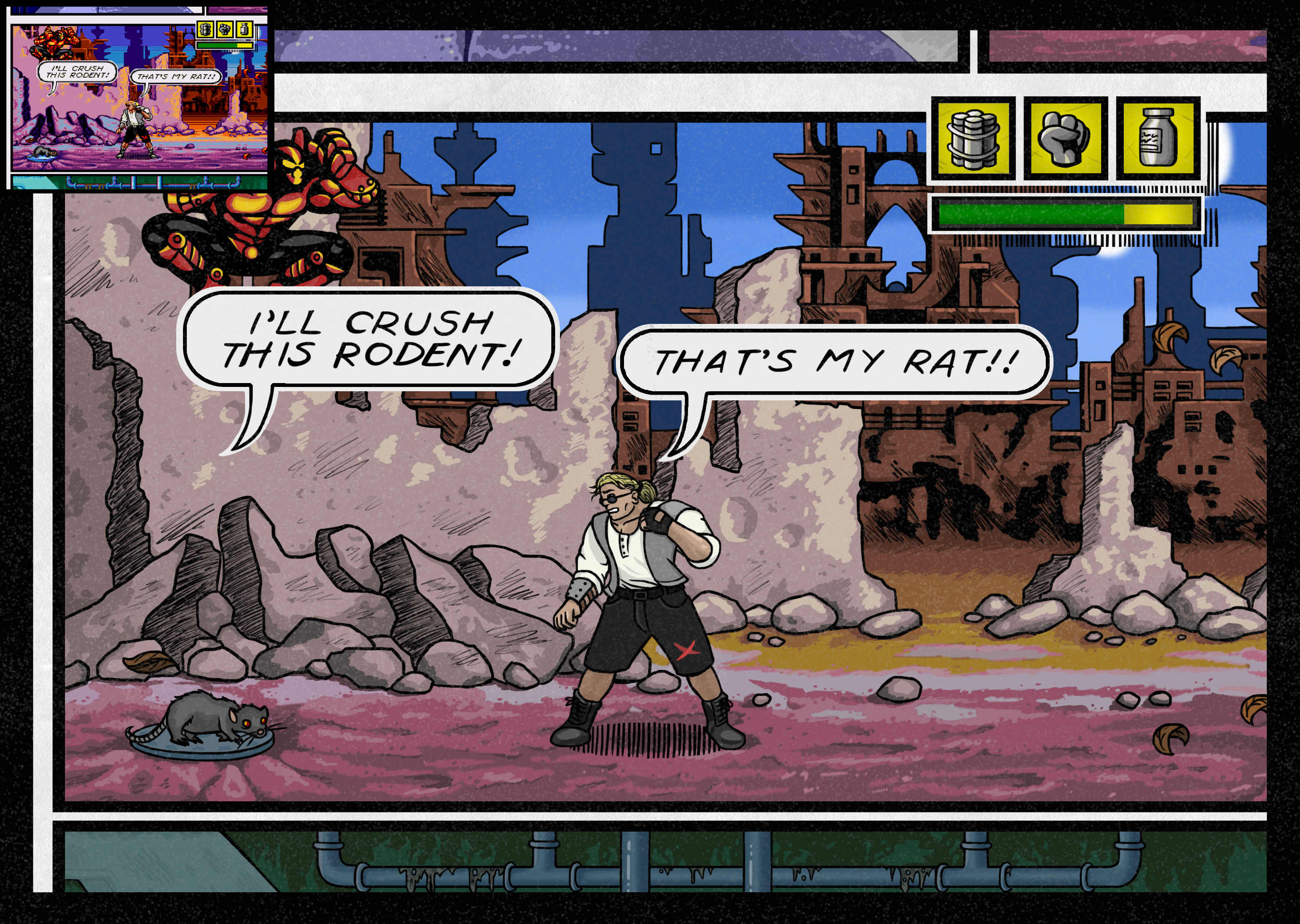 Comix Zone New Resolution