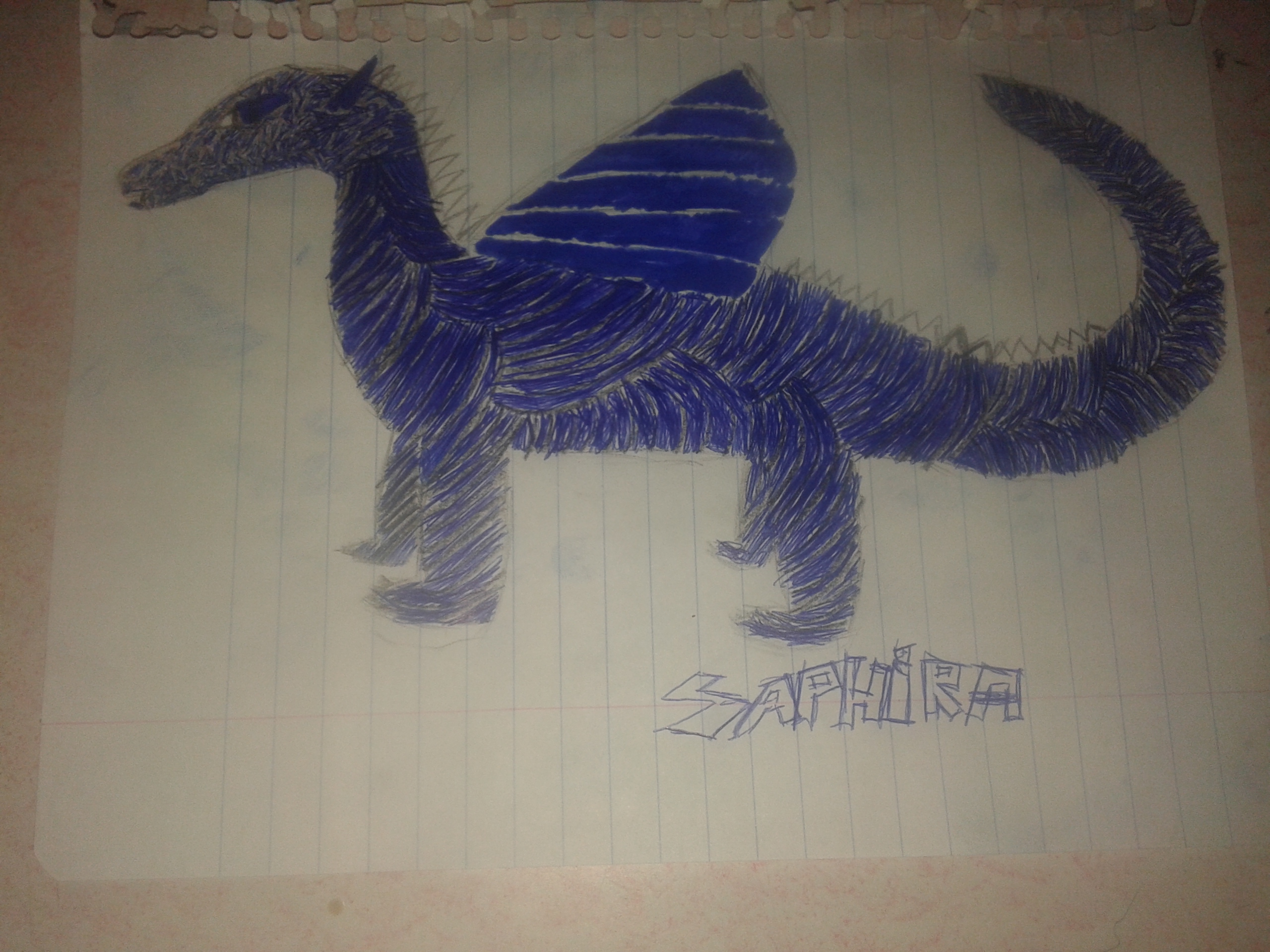 Saphira (Eragon's Dragon from the same named book)