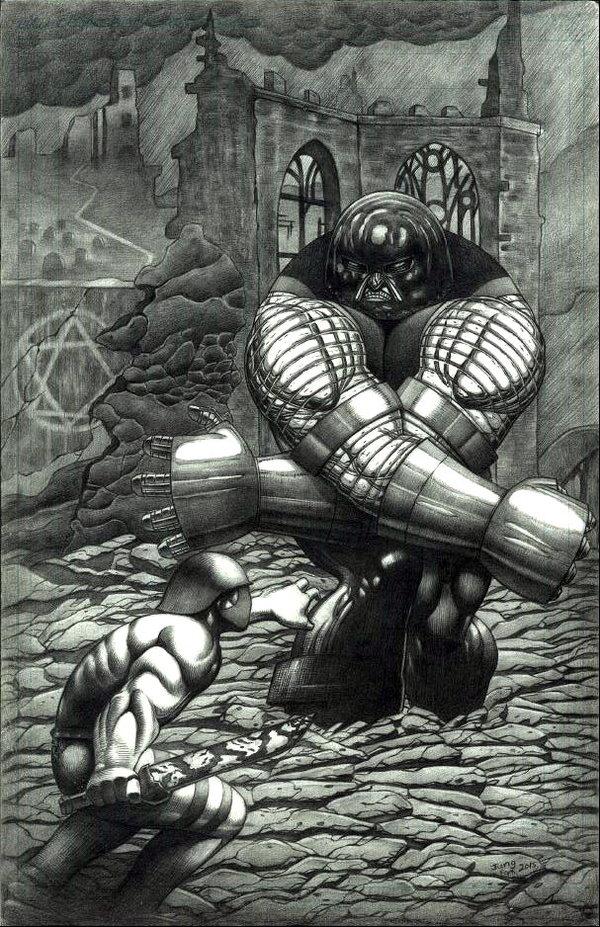Confrontation of Goliath