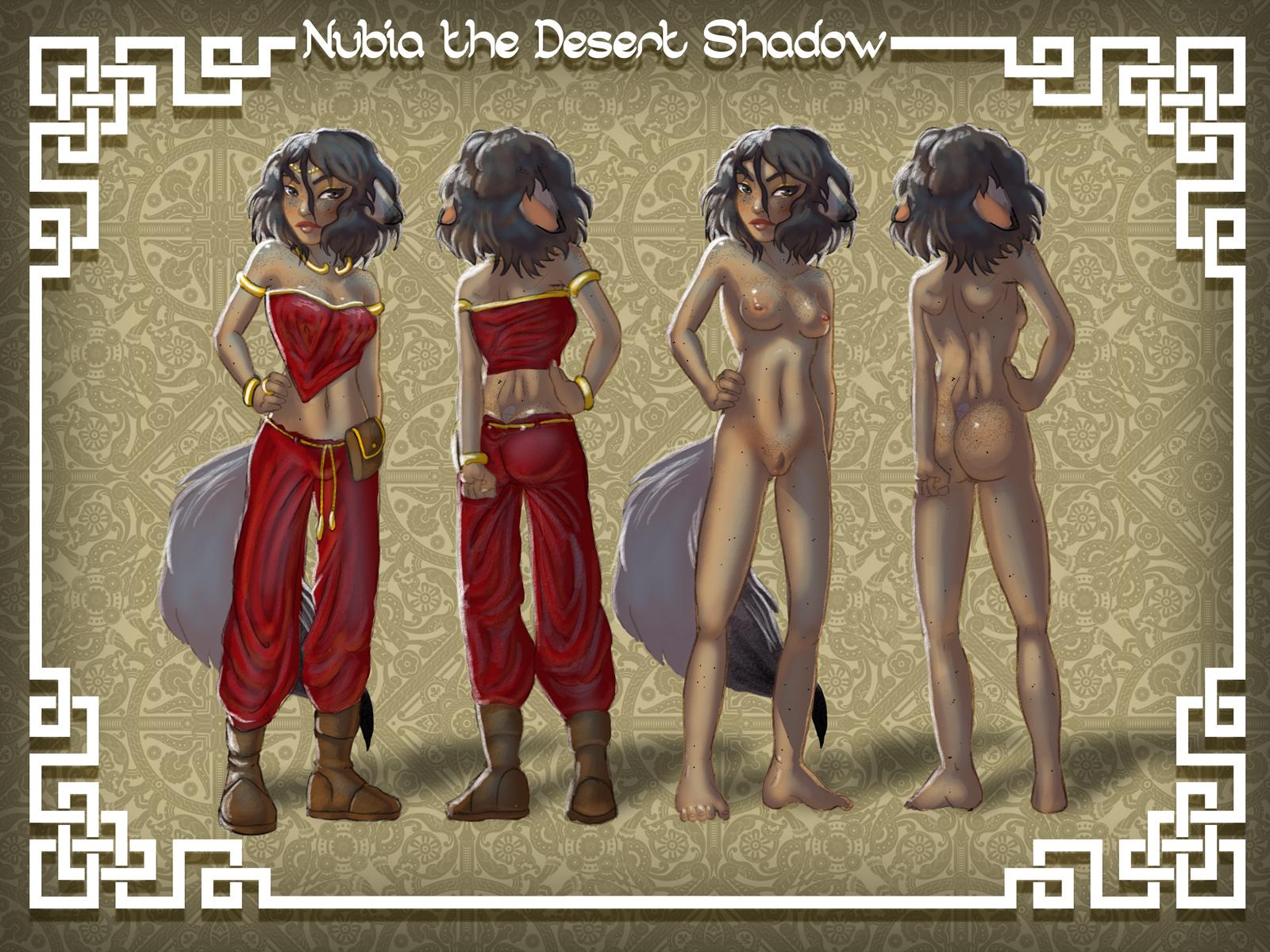 Nubia refsheet
