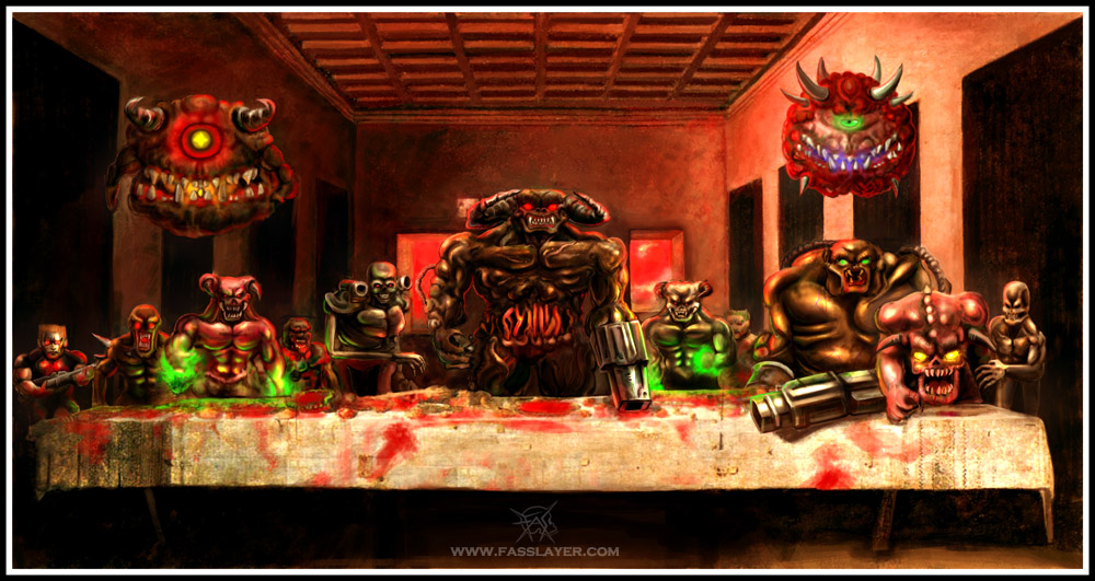 Doom's last supper