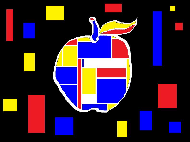 The Apple IX: De Stijl Apple