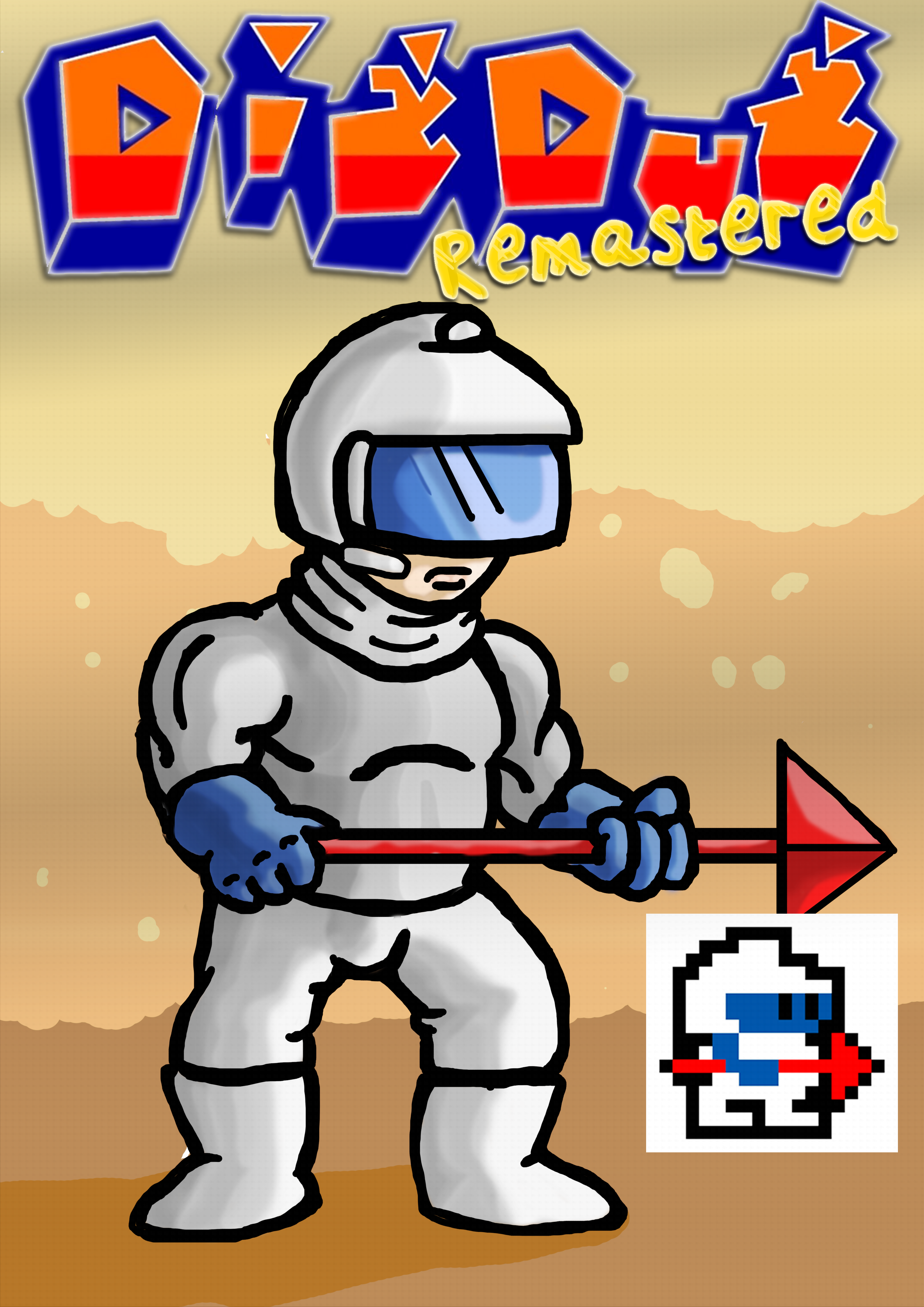 DigDug remastered