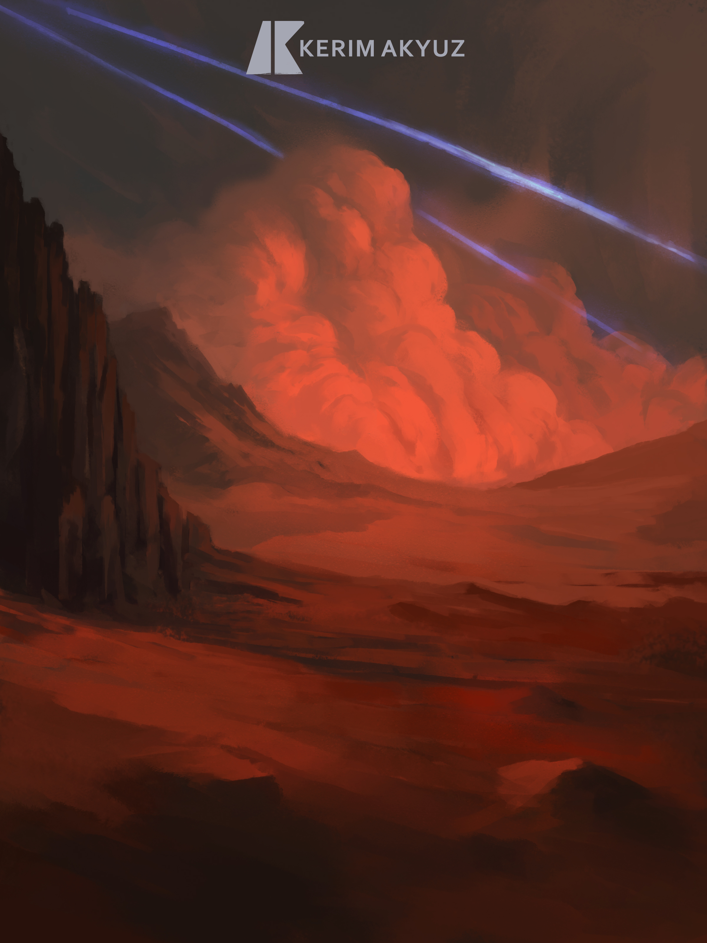 Daily Imagination #142 - Red Planet
