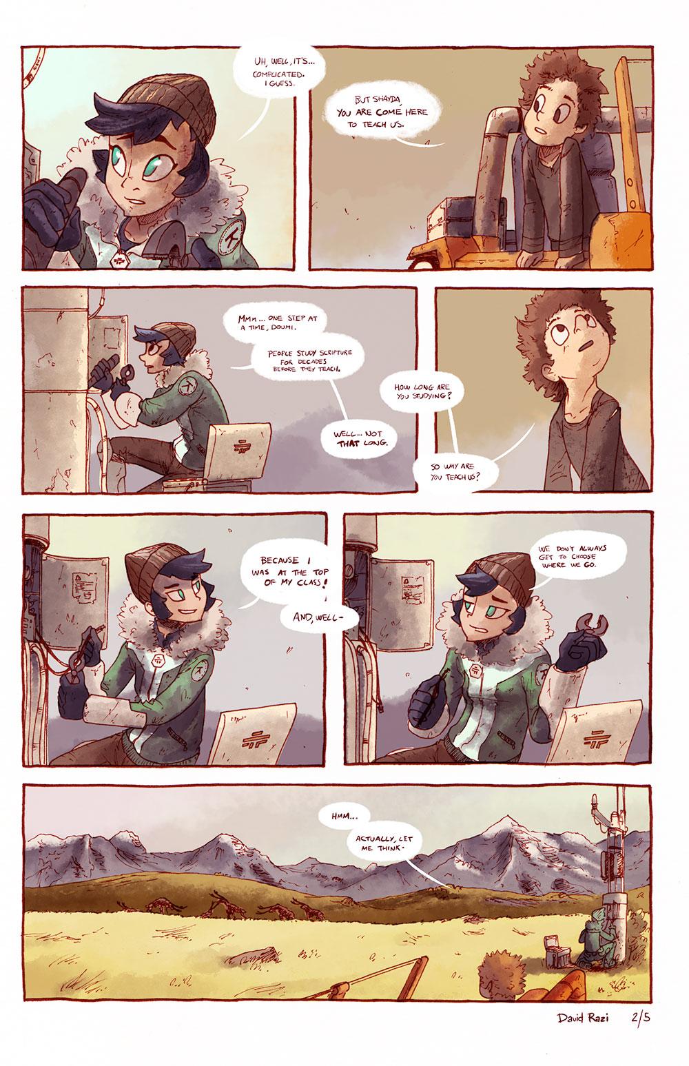 Maps Comics - Repairs 2/5
