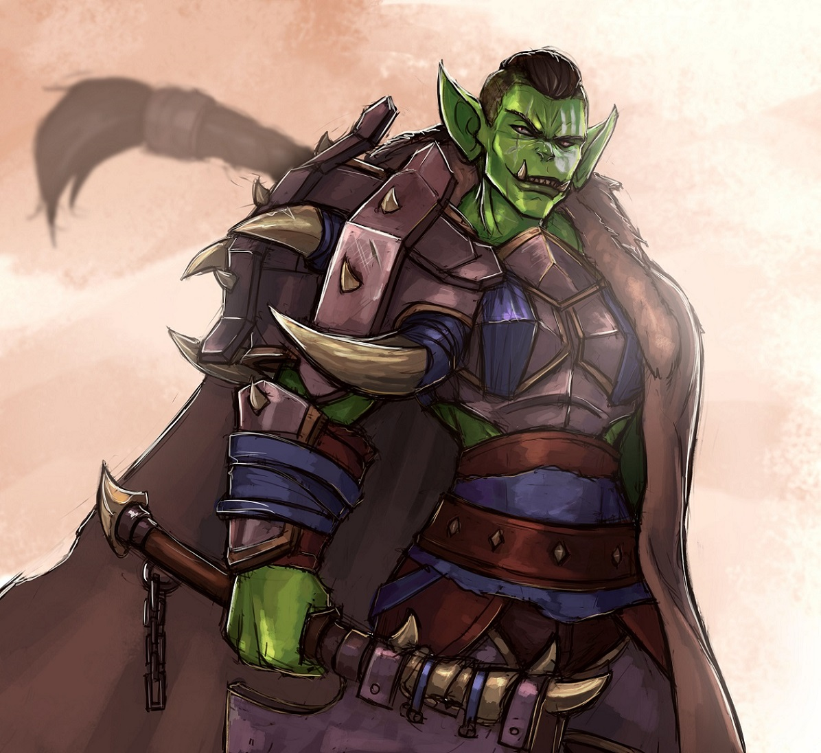 New Armour Same Orc