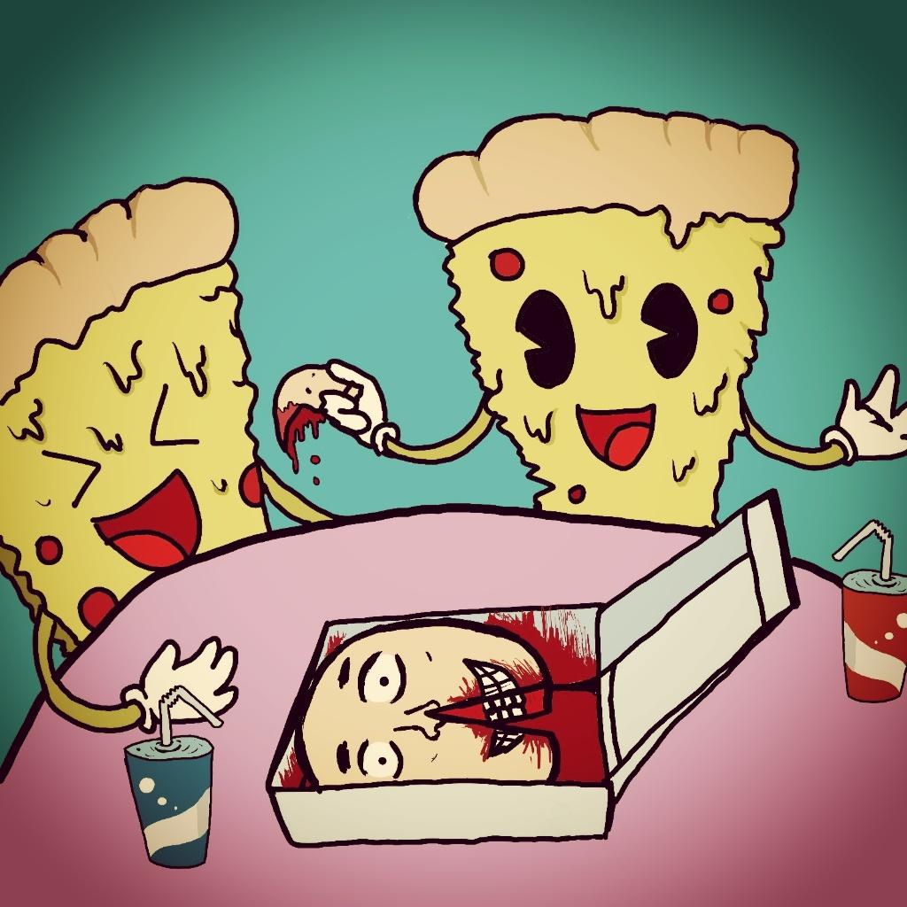 Pizza inversa