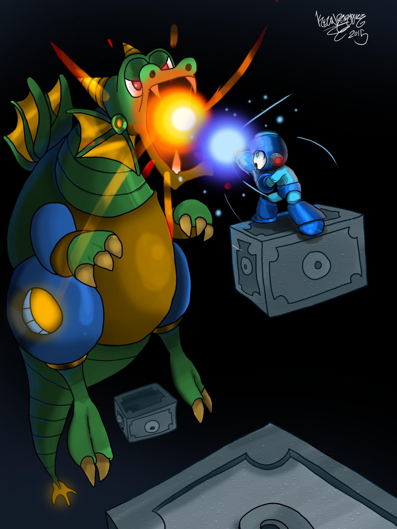 Megaman II Dragon Boss