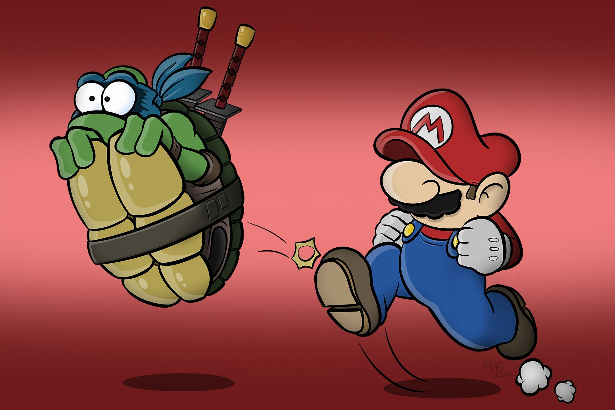 Mario Kick