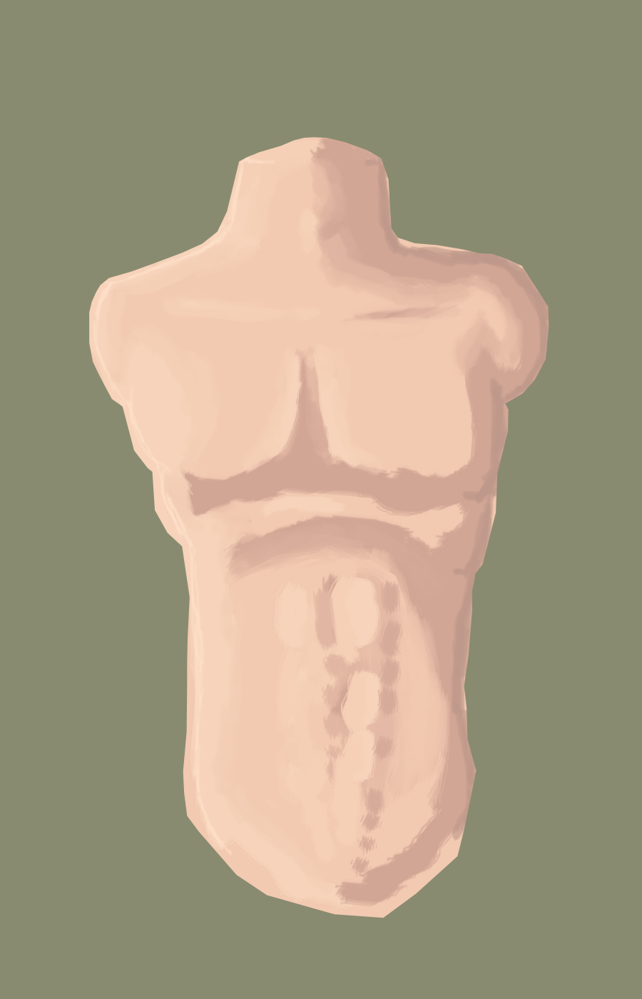 Front male body