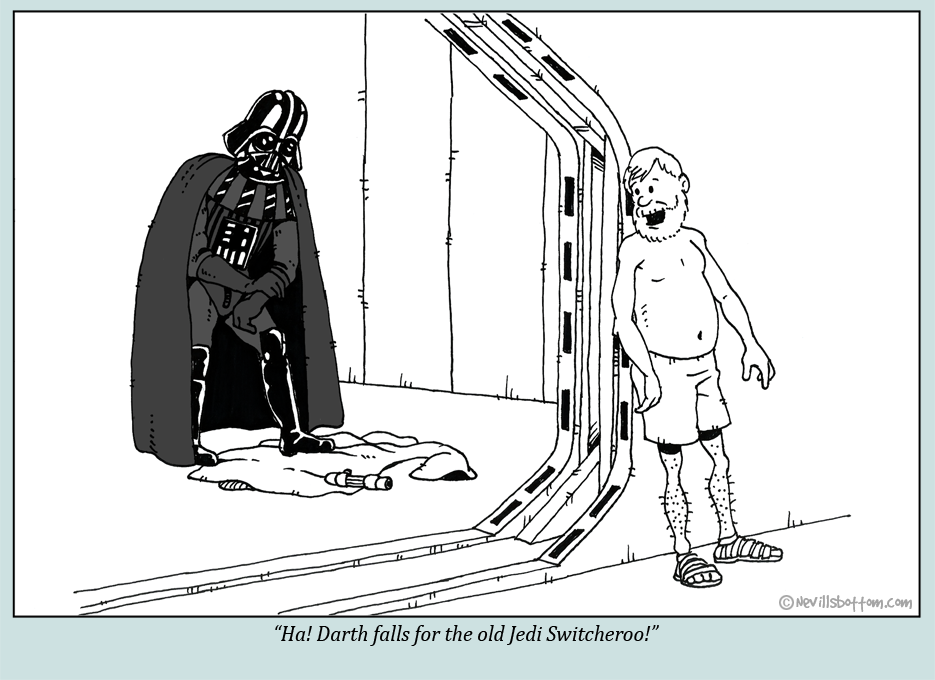 Darth fooled