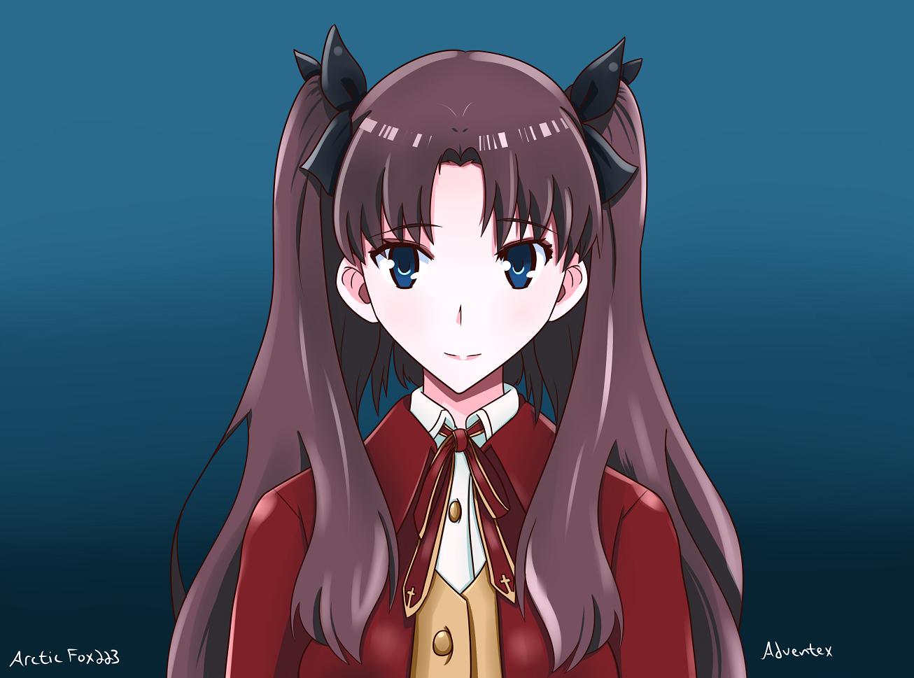 Rin Tohsaka Fan Art