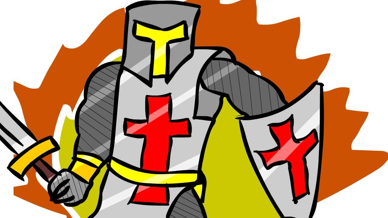 The Crusader Knight