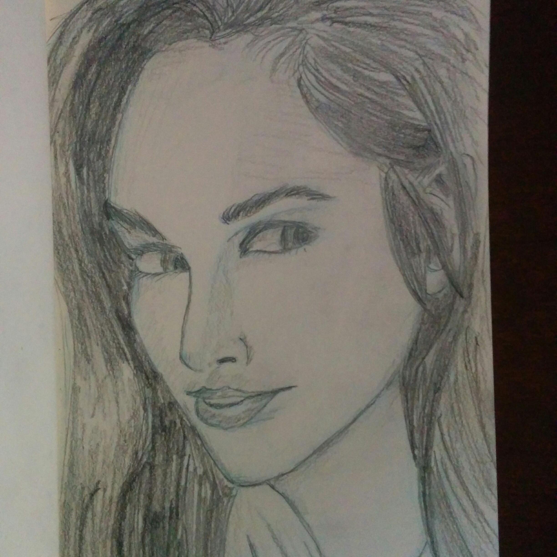 Sketch of Gal Gadot