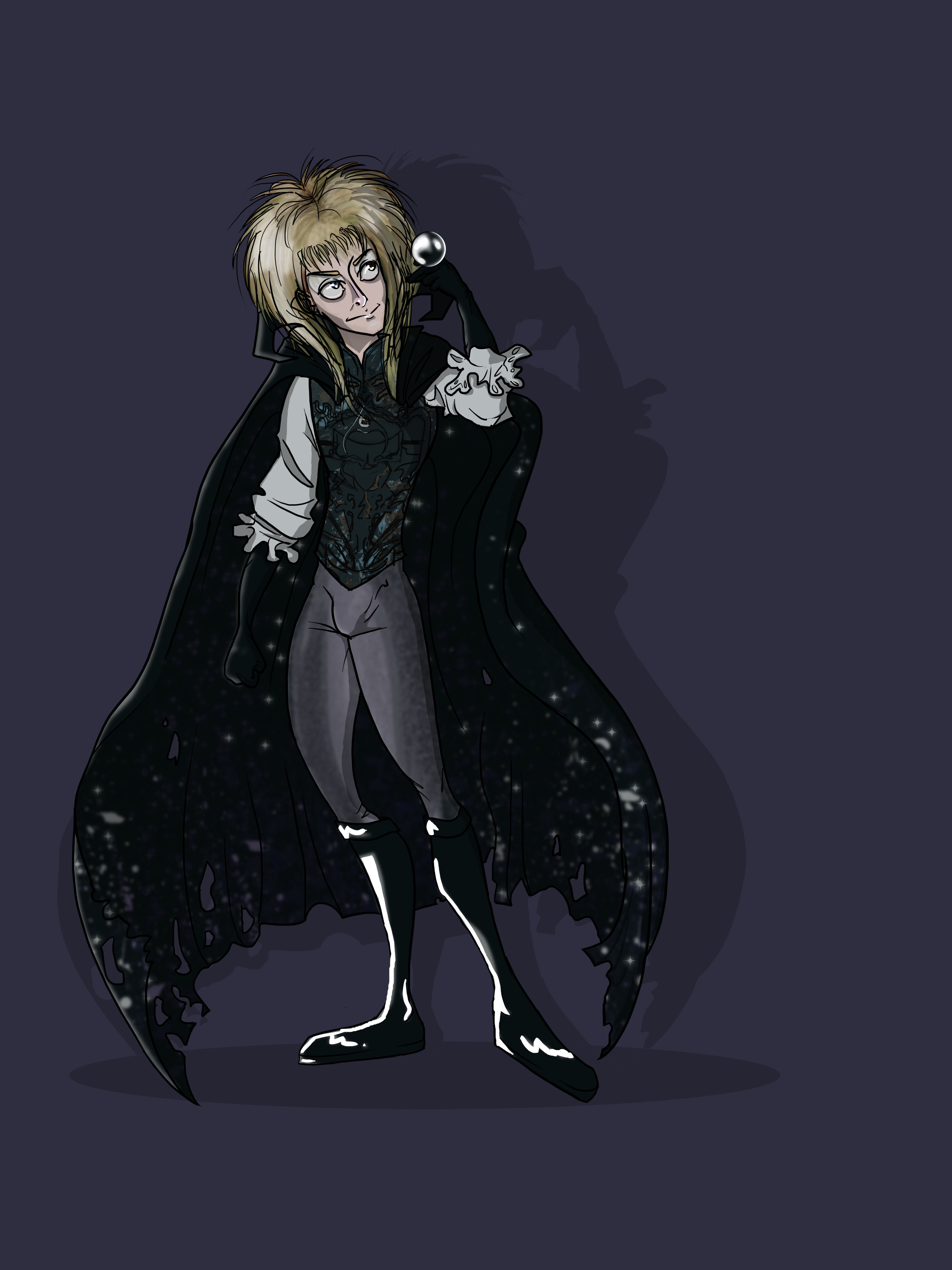 Jareth the Goblin King (Finished and colored! :D)