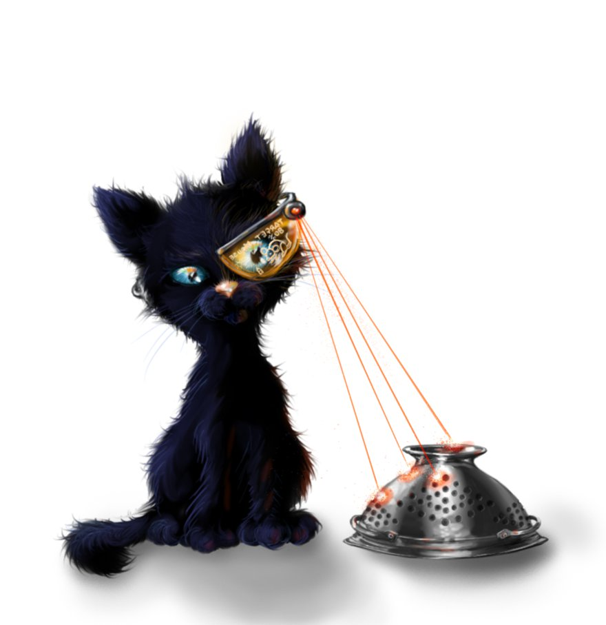 Laser assisted kitty