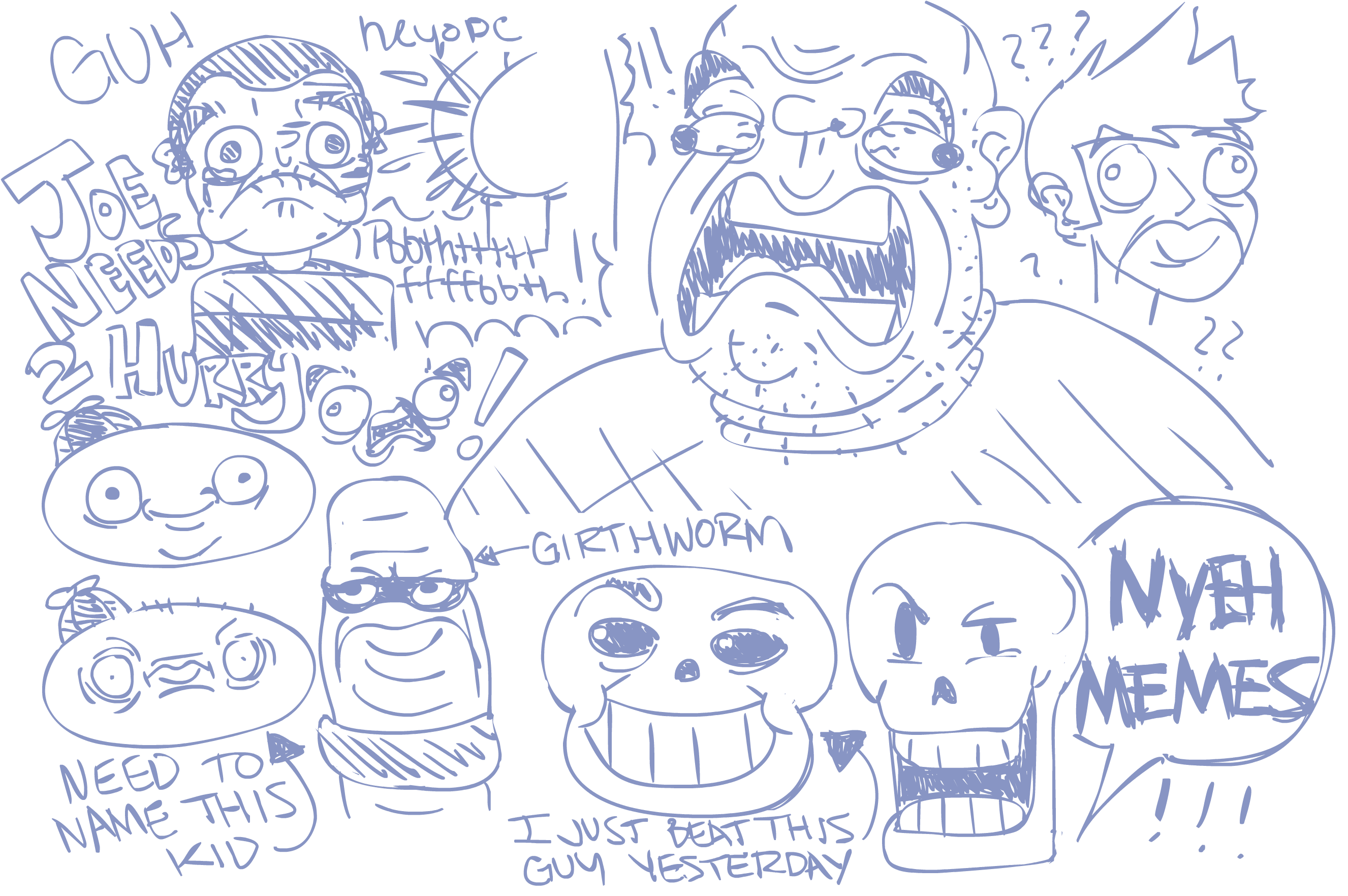 Dumb Doodles 2.1.16