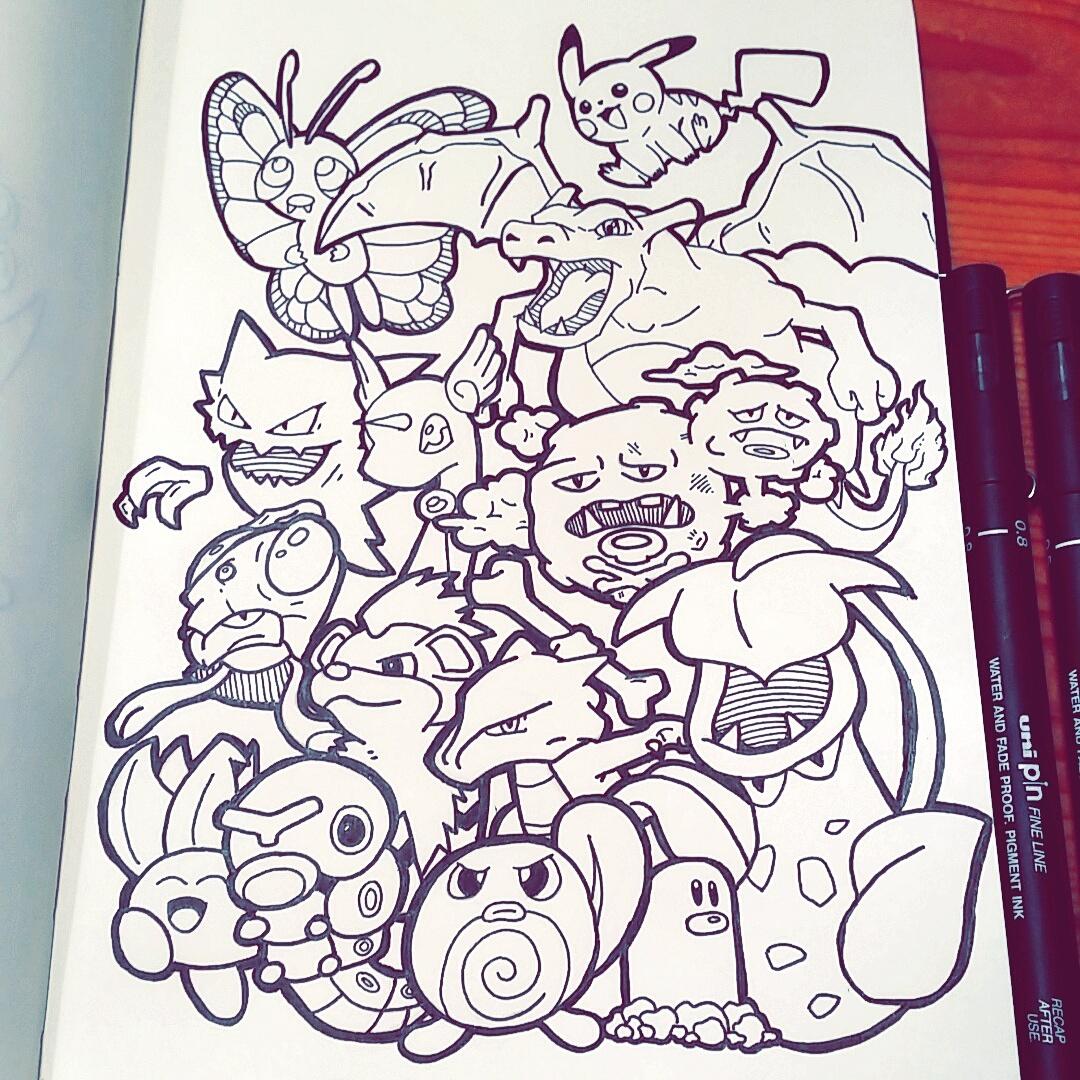 Pokémon Doodle!