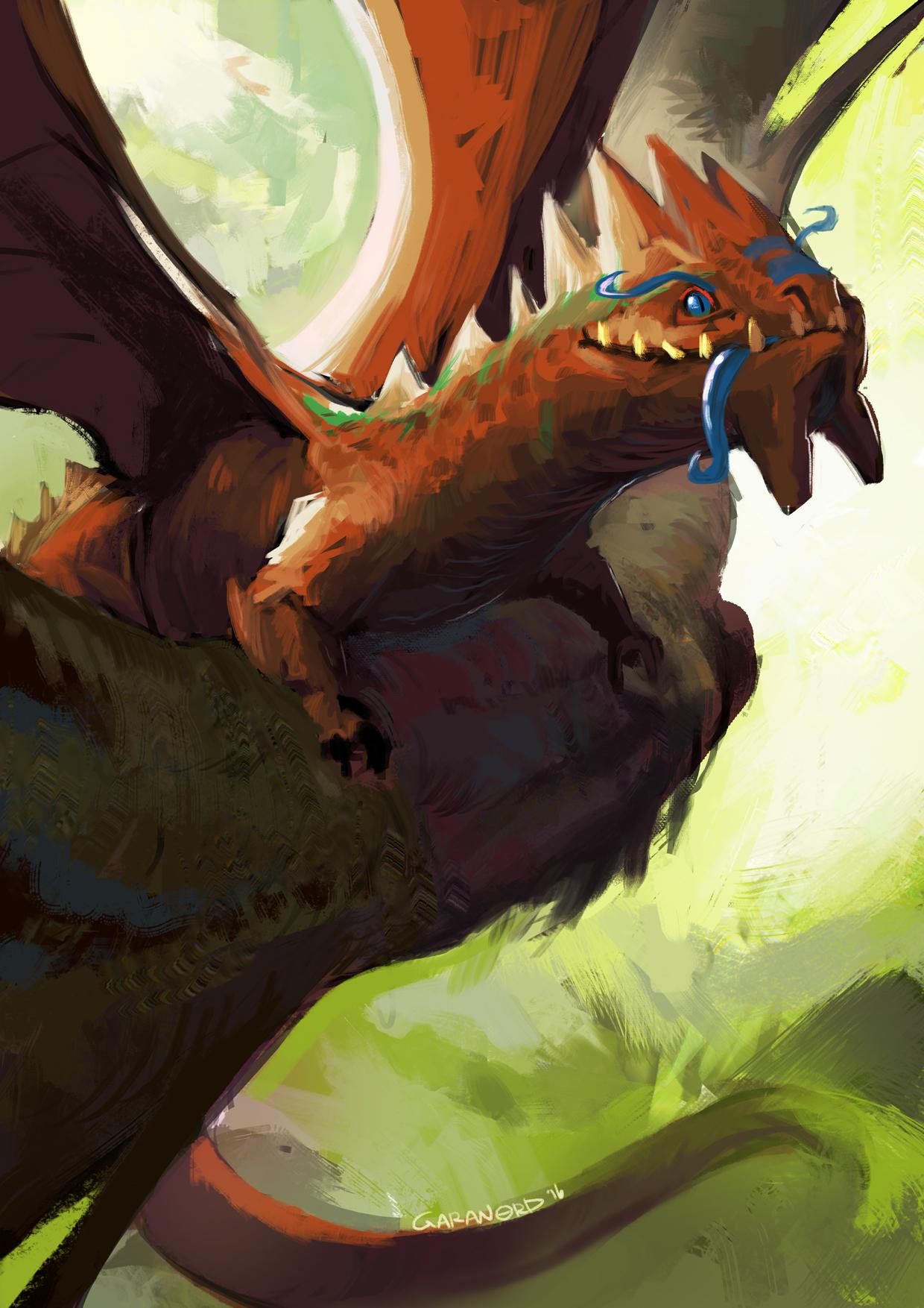 5- Forrest Dragon